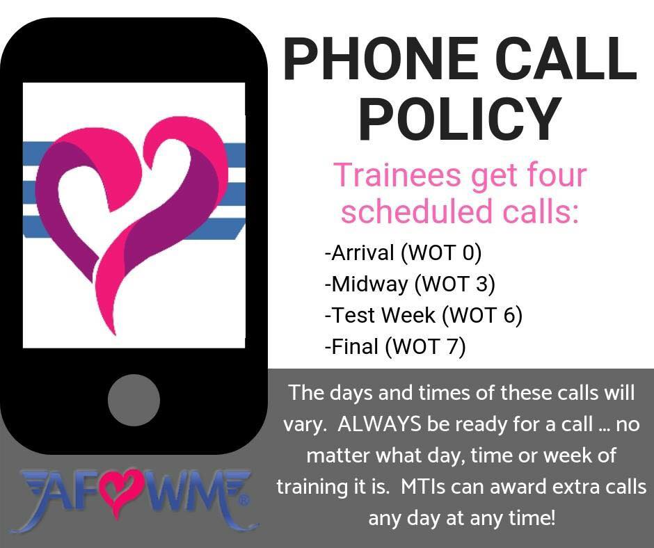 Cell Phone Policy While at BMT   AF WingMoms