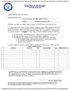 Print the VRAL, fill it out and send to your trainee if you did not already do this at the recruiter's office. Trainees have until the end of week 3 to submit VRAL forms.