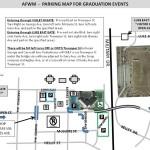 parking map for graduation