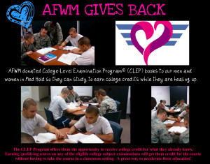 AFWM Gives Back