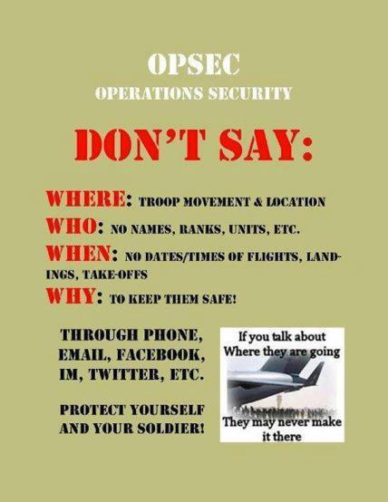 Operations Security Opsec Af Wingmoms