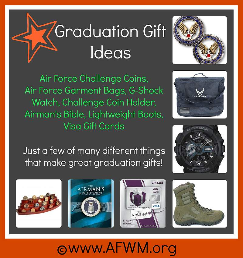 graduation gifts to get or not to get your airman will only care that you are there and not be concerned about getting a gift however if you just gotta - Graduation Gift Ideas