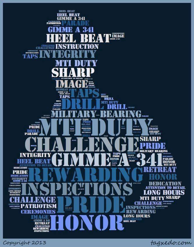 Military Training Instructors (MTIs)   AF WingMoms